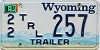 1997 Wyoming Trailer #257, Teton County
