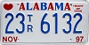 1997 Alabama Trailer # 23TR6132