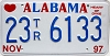1997 Alabama Trailer # 23TR6133