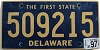 1997 Delaware First State # 509215