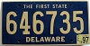 1997 Delaware First State # 646735