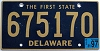 1997 Delaware First State # 675170