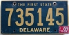 1997 Delaware First State # 735145