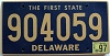 1997 Delaware First State # 904059