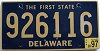 1997 Delaware First State # 926116