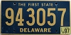 1997 Delaware First State # 943057