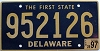 1997 Delaware First State # 952126
