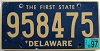 1997 Delaware First State # 958475