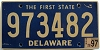 1997 Delaware First State # 973482