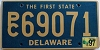 1997 Delaware First State Station Wagon # PC69071