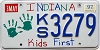 1997 Indiana Kids First graphic # KS3279