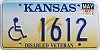 1997 Kansas Disabled Veteran graphic # 1612