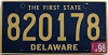 1998 Delaware First State # 820178