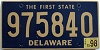 1998 Delaware First State # 975840