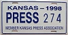 1998 Kansas Press Car # 274