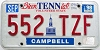 1998 Tennessee Bicentennial # 552-TZF
