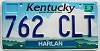 1999 Kentucky Cloud graphic # 762-CLT