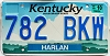 1999 Kentucky Cloud graphic # 782-BKW