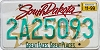1999 South Dakota graphic # 2A25093