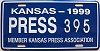 1999 Kansas Press Car # 395