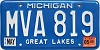 1999 Michigan # MVA-819