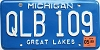1999 Michigan # QLB-109