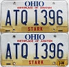 1999 Ohio Aviation graphic pair # ATQ-1396