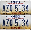 1999 Ohio Aviation graphic pair # AZQ-5134