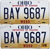 1999 Ohio Aviation graphic pair # BAY-9687