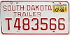 1999 South Dakota Trailer # T483566
