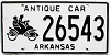 2000 Arkansas Antique Car #26543