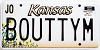 2000 Kansas Sunflower graphic # BOUTTYM, Johnson County