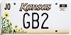2000 Kansas Sunflower graphic # GB2, Johnson County