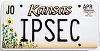 2000 Kansas Sunflower graphic # IPSEC, Johnson County