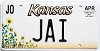 2000 Kansas Sunflower graphic # JAI, Johnson County