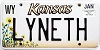2000 Kansas Sunflower graphic # LYNETH, Wyandotte County