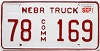 2000 Nebraska Commercial Truck #169, Dewel County