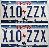 2000 Texas Shuttle pair # X10-ZZX
