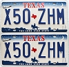 2000 Texas Shuttle pair # X50-ZHM