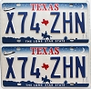 2000 Texas Shuttle pair # X74-ZHN
