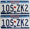 2000 Texas Truck Shuttle pair # 10S-ZK2