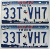 2000 Texas Truck Shuttle pair # 33T-VH7