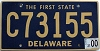 2000 Delaware First State Commercial # C73155
