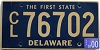 2000 Delaware First State Commercial # CL76702