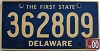2000 Delaware First State # 362809