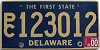 2000 Delaware First State Station Wagon # PC123012