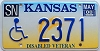2000 Kansas Disabled Veteran graphic # 2371, Shawnee County