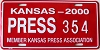 2000 Kansas Press Car # 354