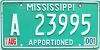 2000 Mississippi Apportioned # A 23995