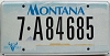 2000 Montana graphic # 7-A84685, Flathead County